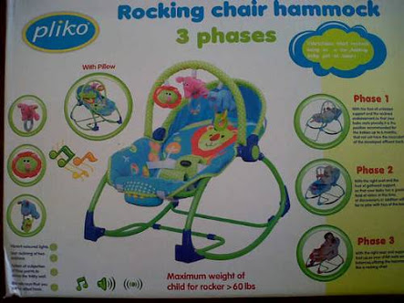 Jual Bouncer Pliko Rocking Chair Hammock