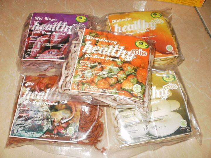 Mie Organik Sehat