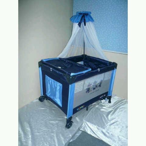 Baby Box/ranjang Bayi Pliko Creative B808 (Murah) Kondisi Baru-box-