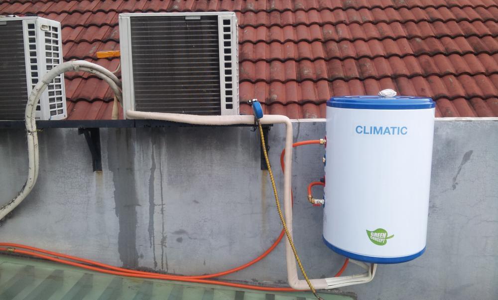 water heater generasi baru tanpa listrik gas solar kok bisa