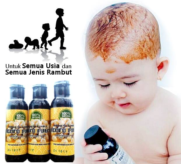 jual ndoro putri minyak kemiri asli penumbuh rambut bayi dan bunda Gambar Minyak Kemiri Untuk Bayi