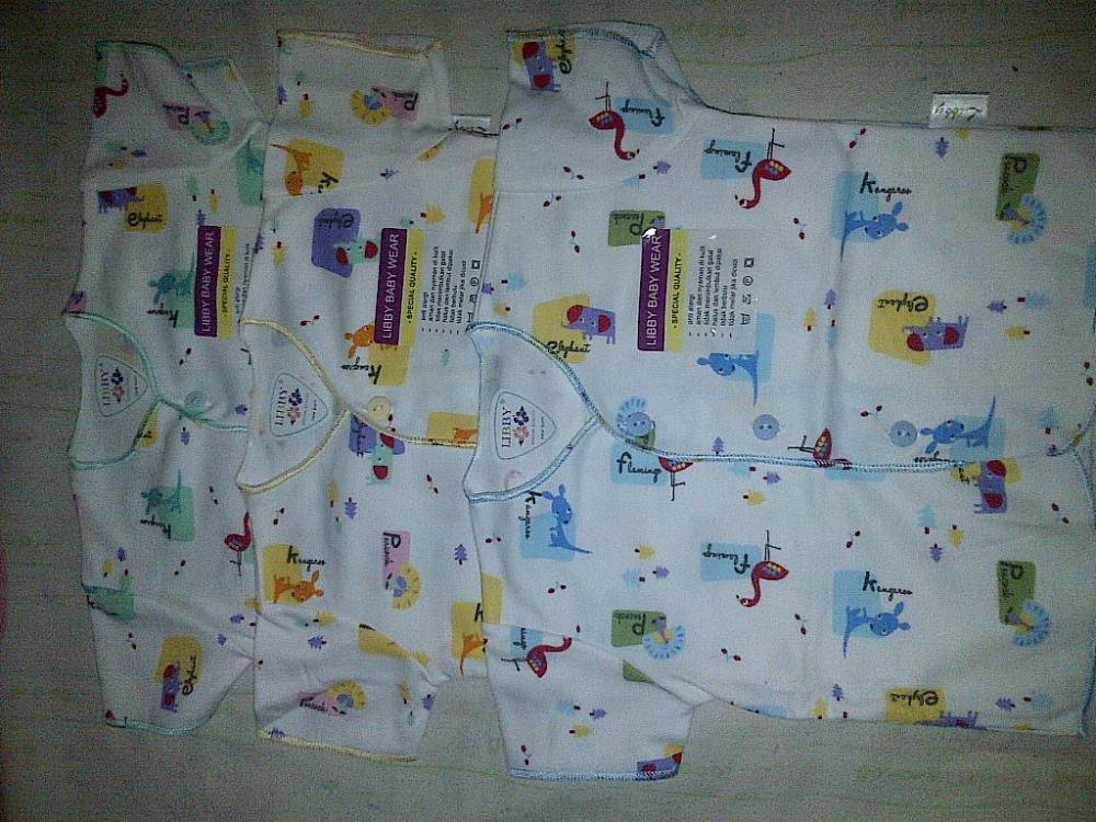 Jual baju bayi merk libby dan velvet,bahan aman untuk bayi ...