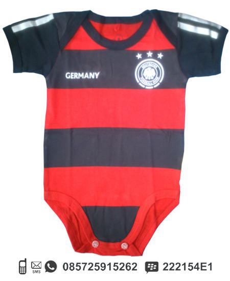 Baby Jumper (Baju Kodok) motif Jersey Bola